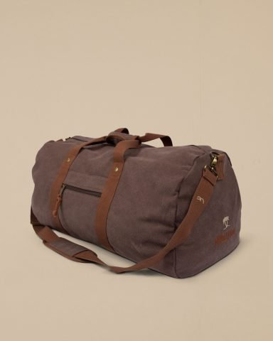 Whollyyou Traveling Bag in Braun