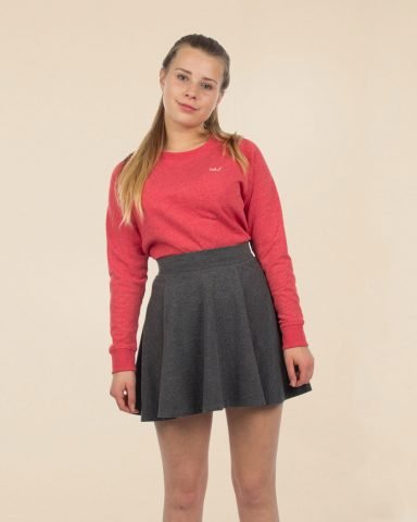 Whollyyou Waves Sweatshirt in Rot für Frauen